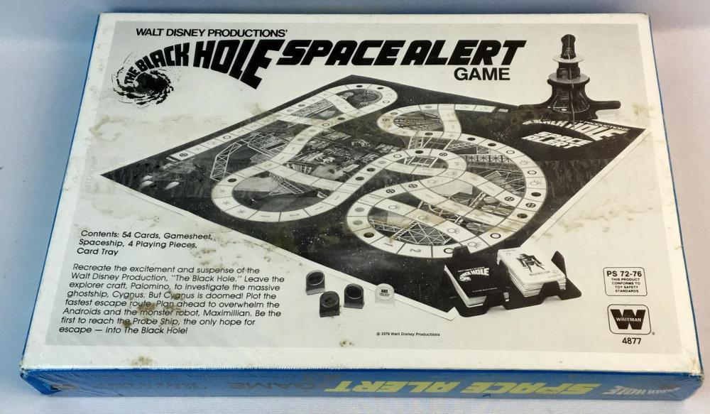 Vintage 1979 Walt Disney's The Black Hole Space Alert Game