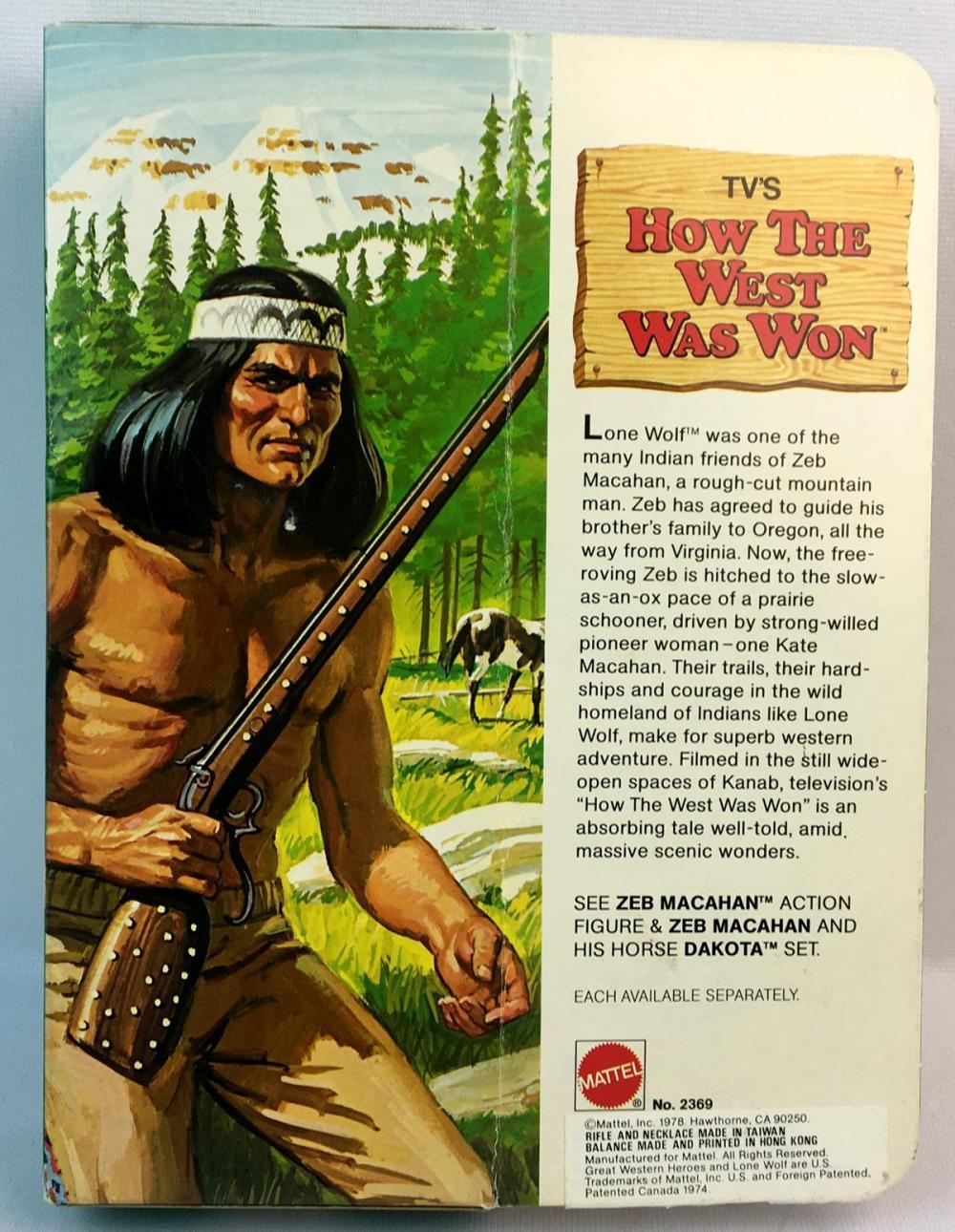 Vintage 1978 Mattel TV's How The West Was Won