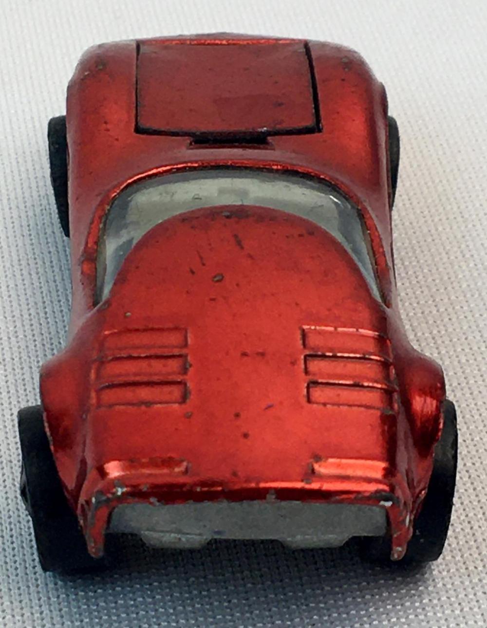 Vintage 1968 Hot Wheels Redline Red Torero