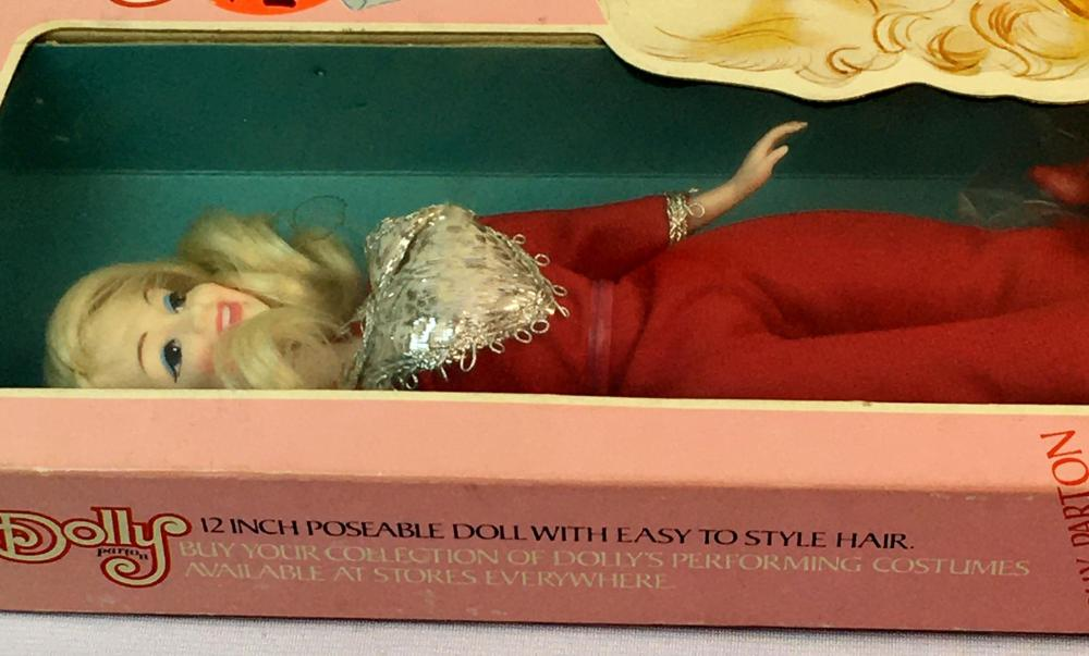 Vintage 1970's Dolly Parton 12' Poseable Doll by Goldberger UNOPENED