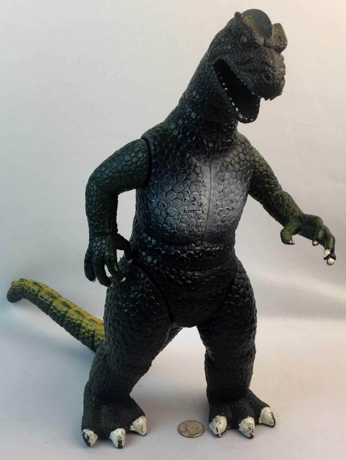 """Vintage 1986 DorMei Godzilla 14"""" Tall Action Figure"""