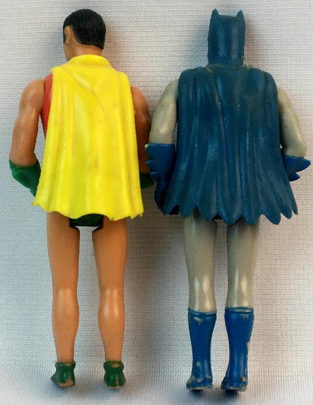 Vintage 1975 Batman & Robin Mego Pocket Heroes 4