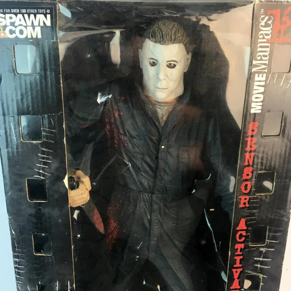 2000 Spawn Halloween Michael Myers Sensor Activated Sound Figure 18