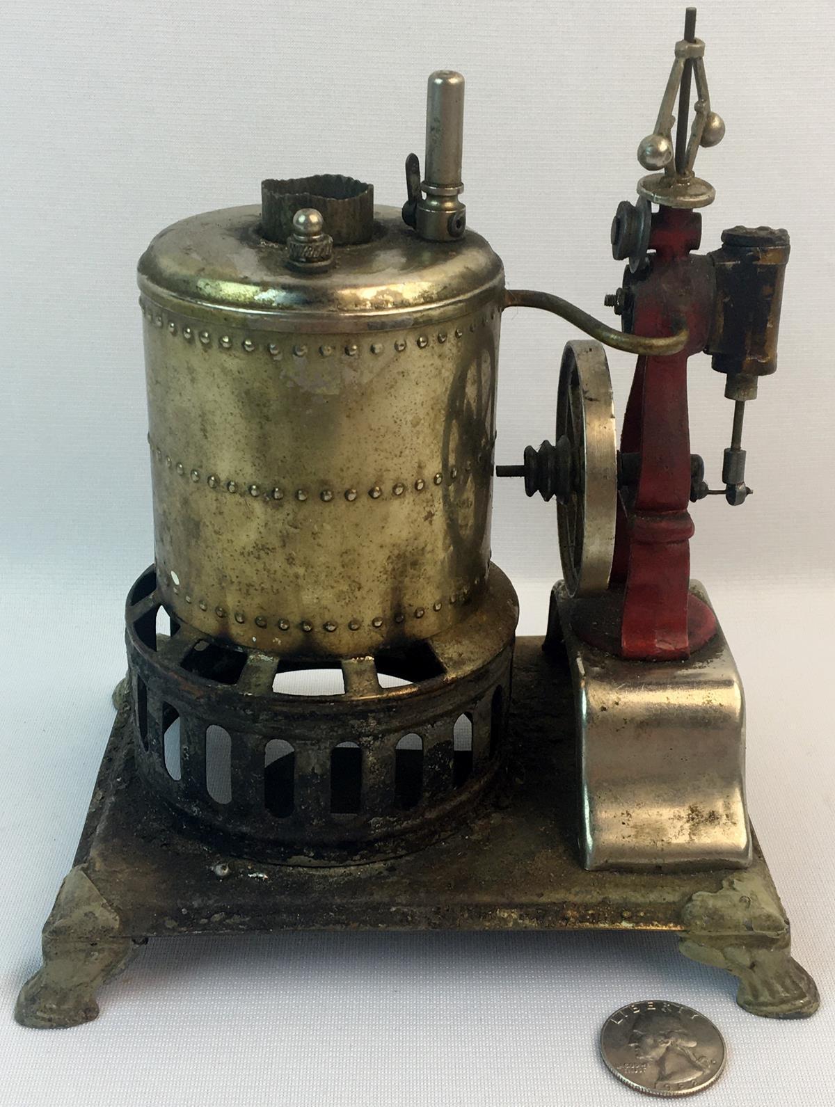 Antique c. 1900 Weeden No. 17 Toy Steam Engine