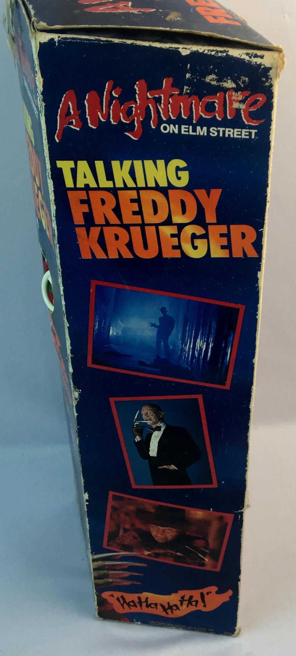 Vintage 1989 Nightmare on Elm Street Talking Freddy Krueger Doll 18