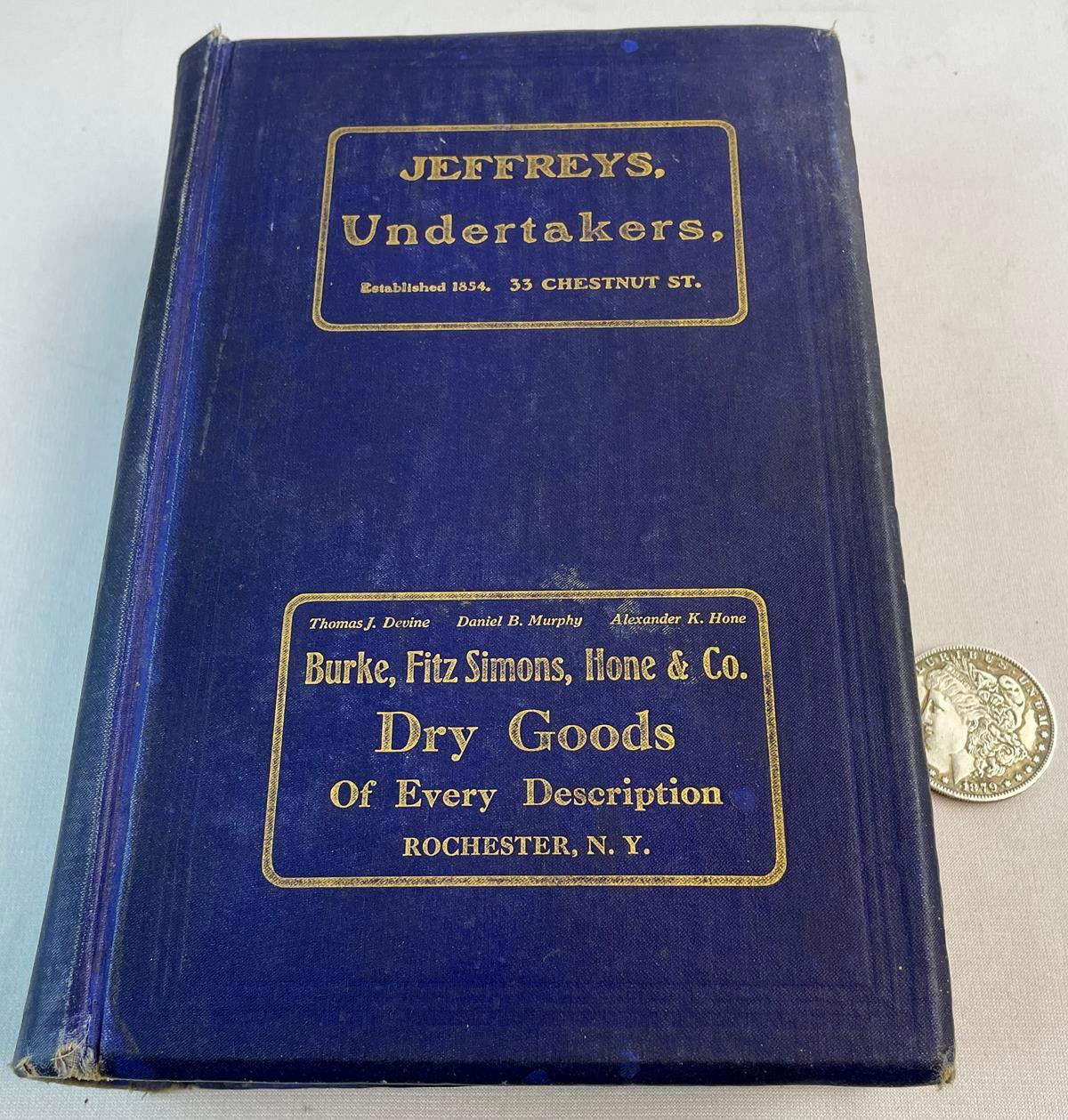 1911- 1912 The Rochester House Directory & Family Address Book No. XI
