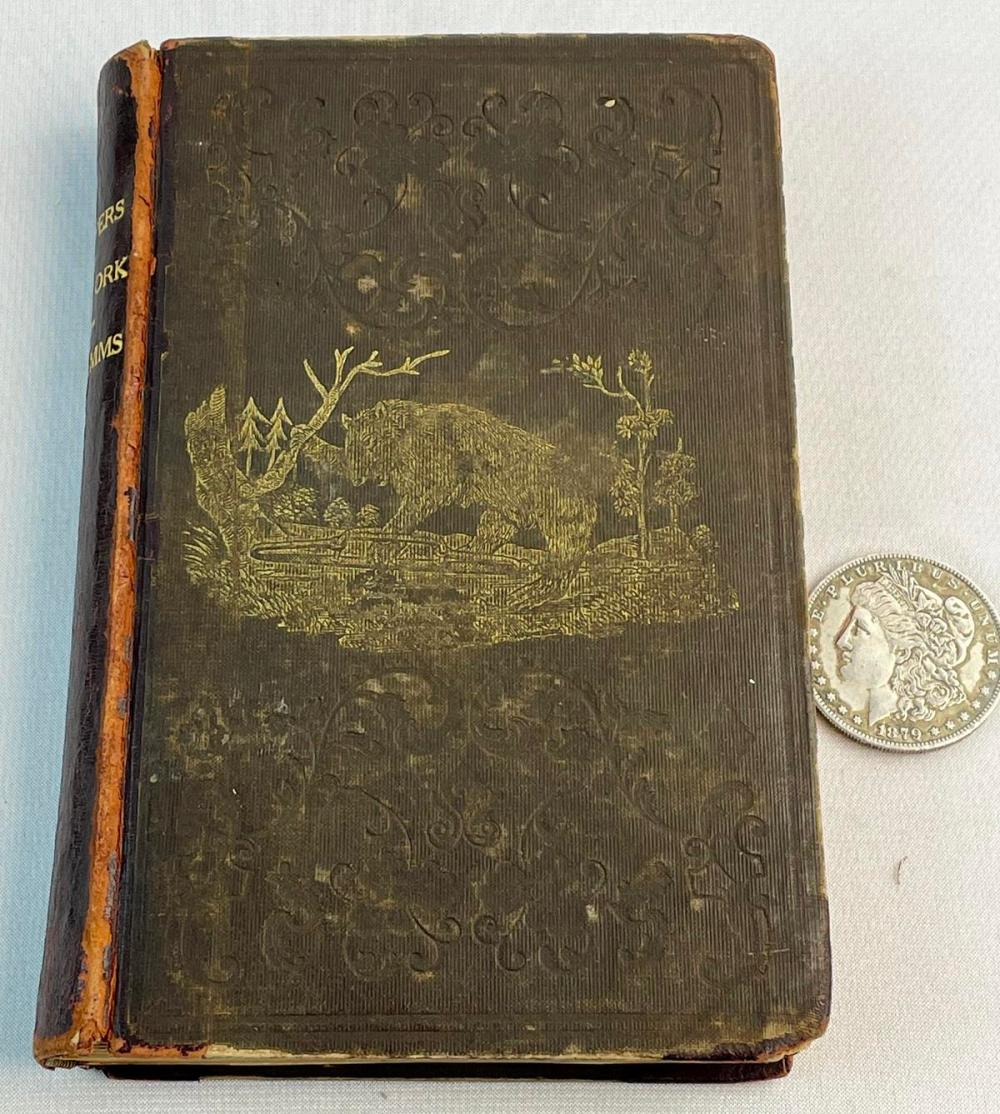 1851 Trappers of New York or a Biography of Nicholas Stoner & Nathaniel Foster by Jeptha R. Simms ILLUSTRATED