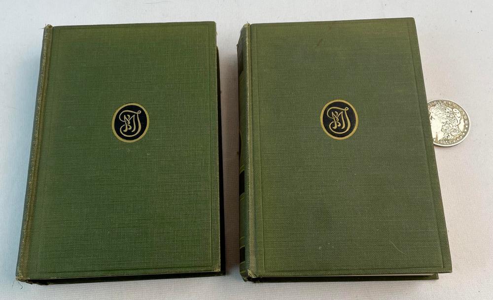 1924 The Complete Works of Mark Twain: Mark Twain's Autobiography (Volume I & II)