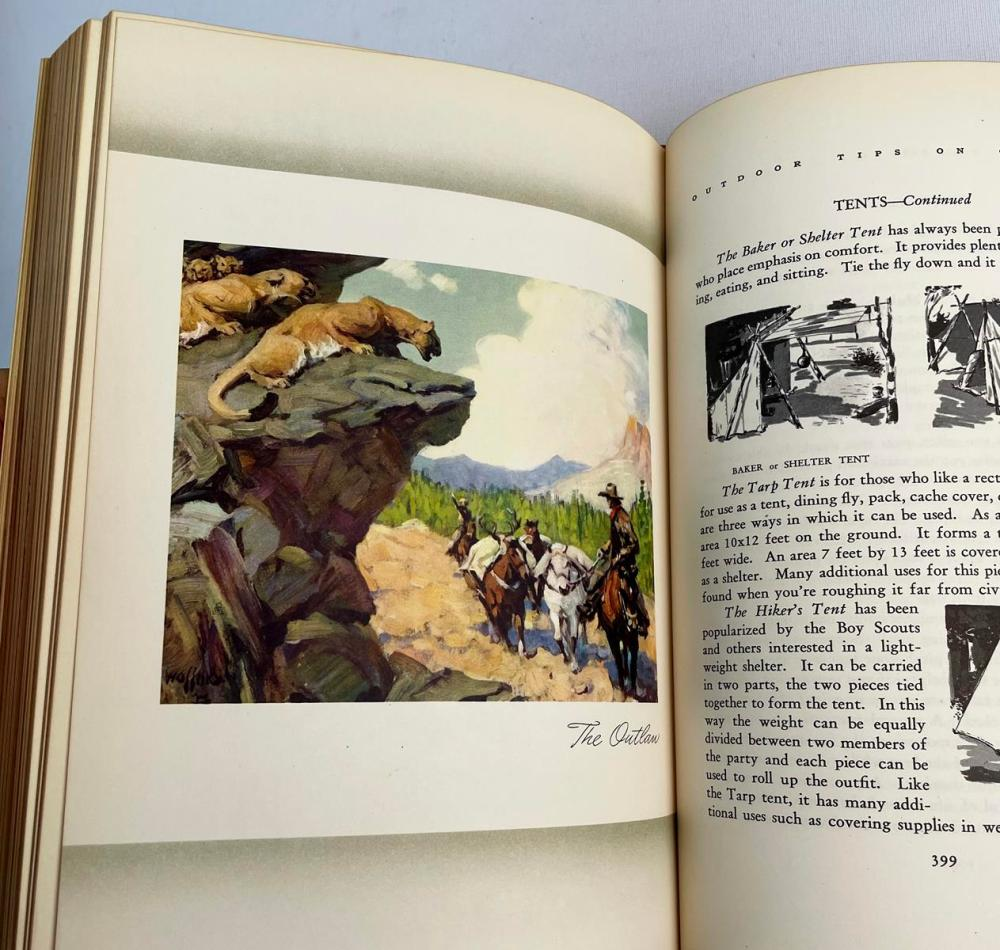 1949 Lure of the Open by Joe Godfrey Jr & Frank Dufresne Illustrated FIRST EDITION