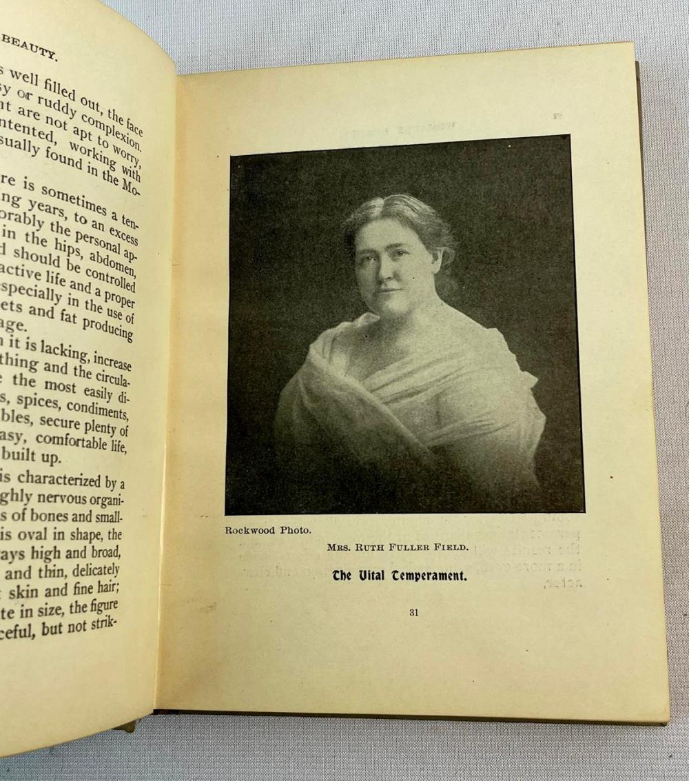 1900 Womanly Beauty of Form & Feature by Twenty Physicians & Specialists & Albert Turner