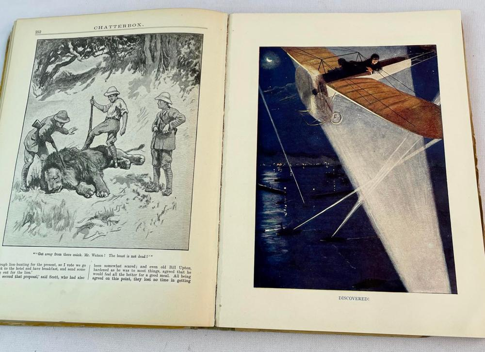 1914 Chatterbox Founded by J. Erskine Clarke ILLUSTRATED