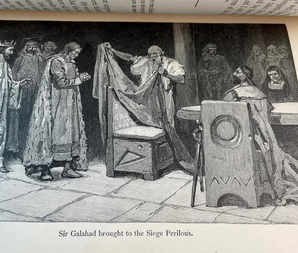 1903 The Boy's King Arthur Being Sir Thomas Malory's History by Sidney Lanier ILLUSTRATED