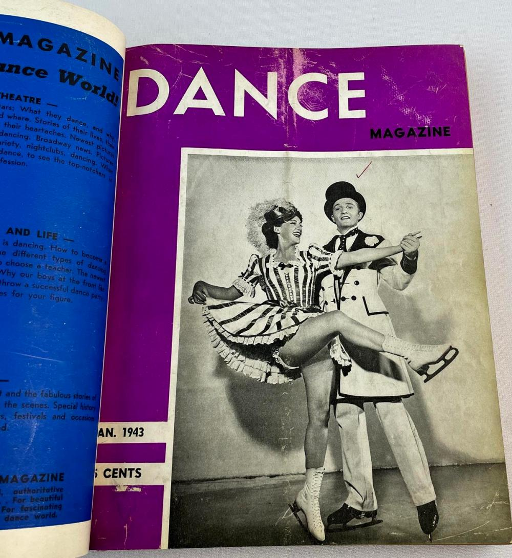 December 1942 - December 1942 Bound Dance Magazines by Lucille Marsh