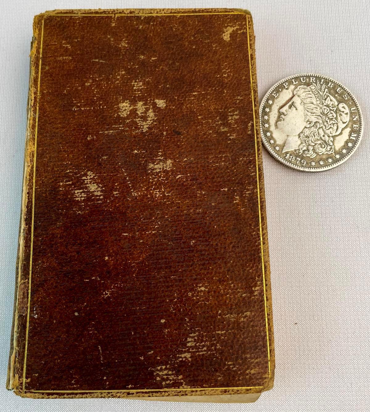 1833 Rasselas: A Tale by Dr. Johnson (Samuel Johnson) LEATHER