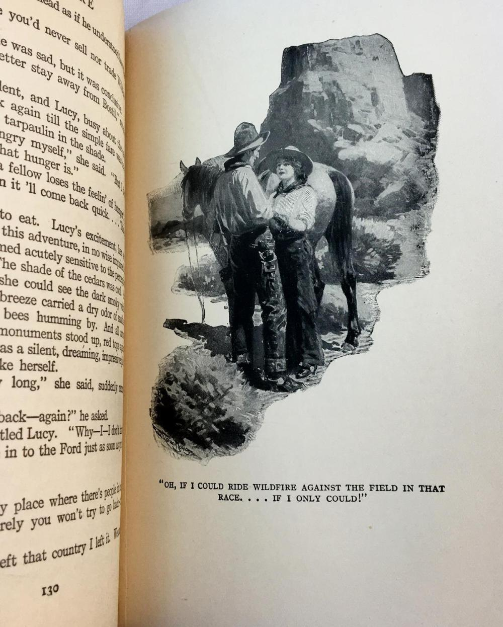 1916 Wildfire by Zane Grey PHOTOPLAY FIRST EDITION