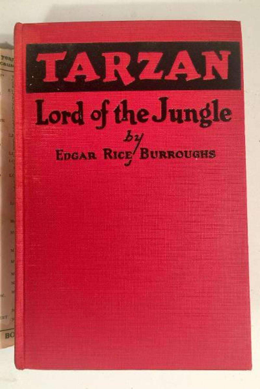 1928 Tarzan Lord Of The Jungle by Edgar Rice Burroughs w/ Dust Jacket ILLUSTRATED