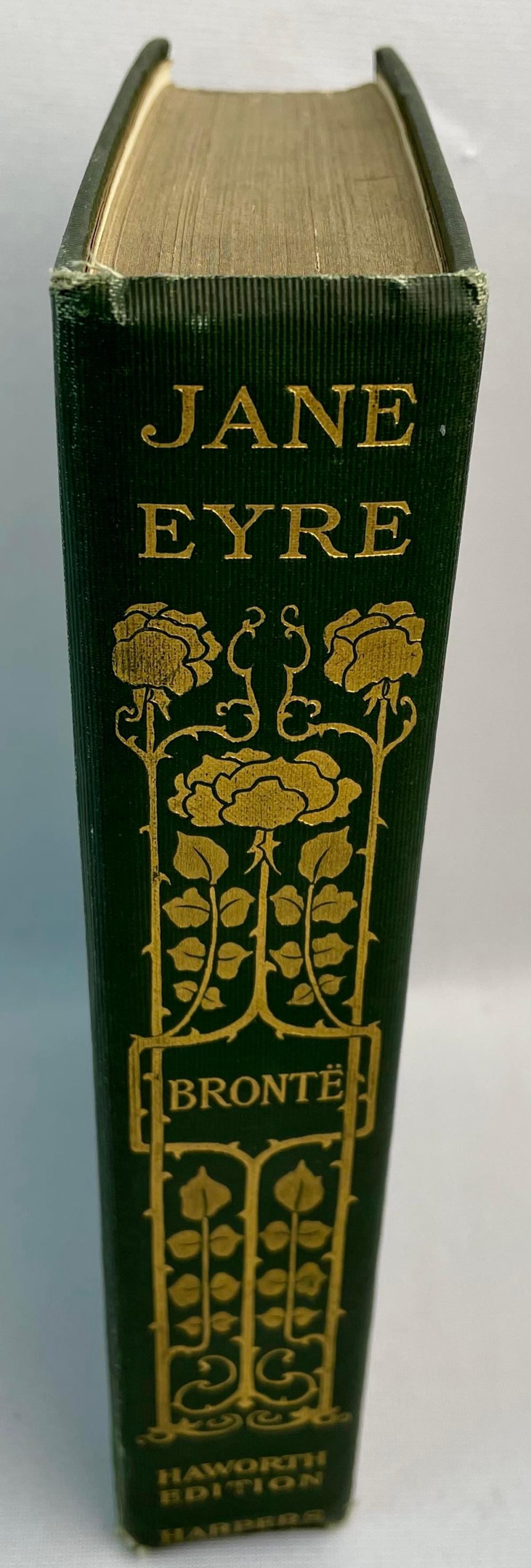 1899 Jane Eyre by Charlotte Bronte (Currer Bell) ILLUSTRATED Haworth Edition
