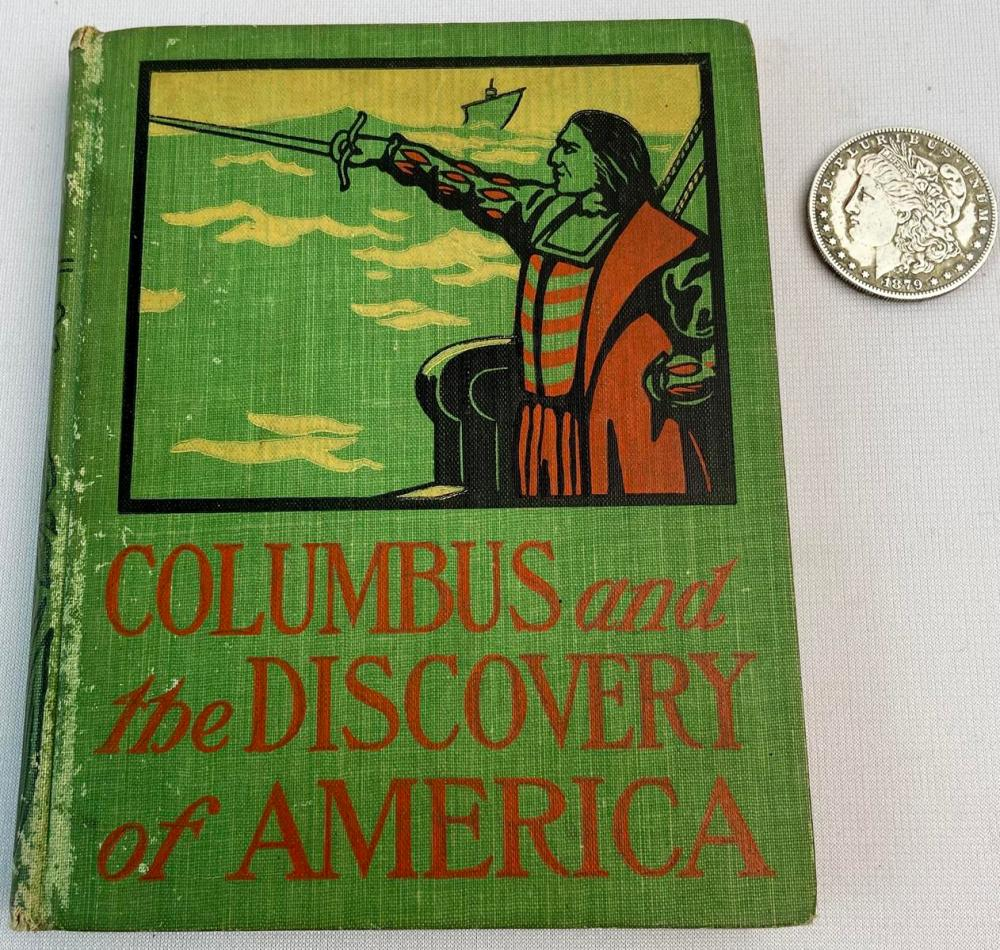 1896 Christopher Columbus and The Discovery of America ILLUSTRATED