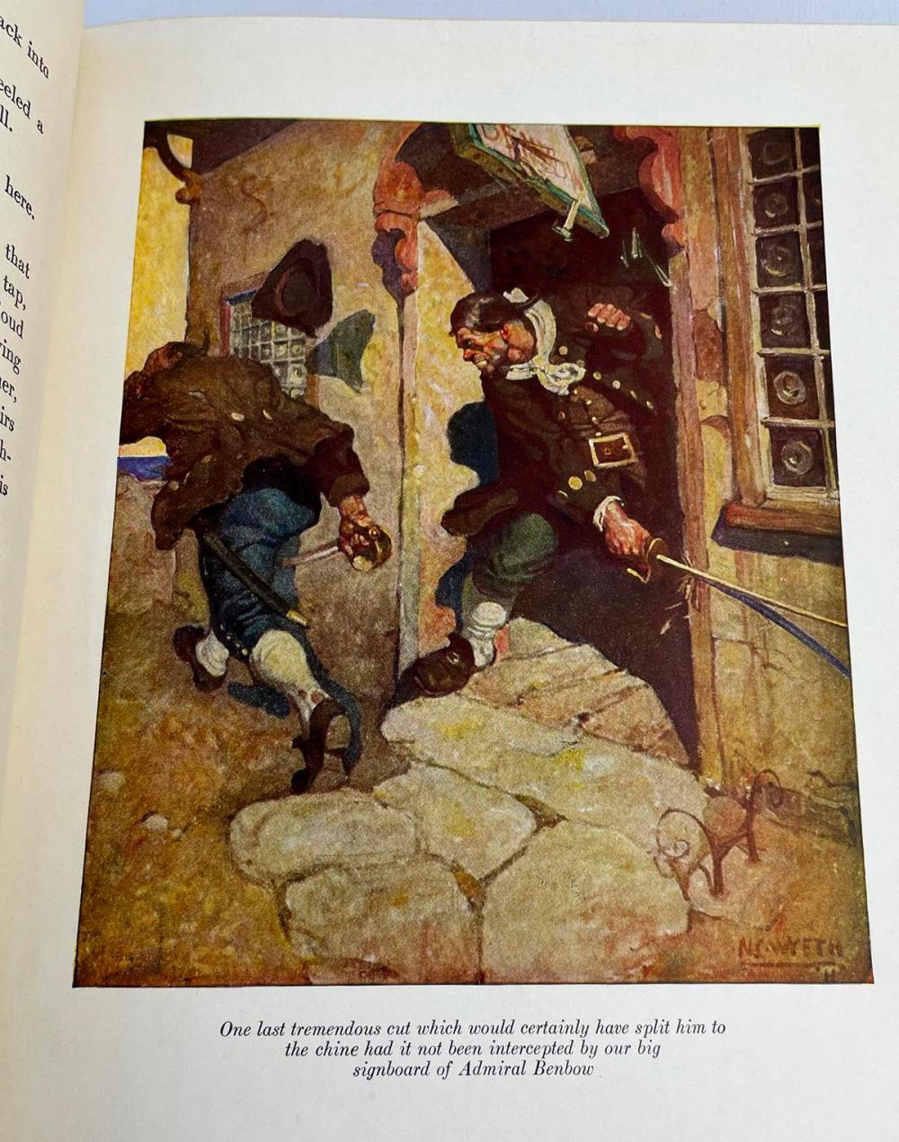 1931 Treasure Island by Robert Louis Stevenson ILLUSTRATED by N.C. Wyeth