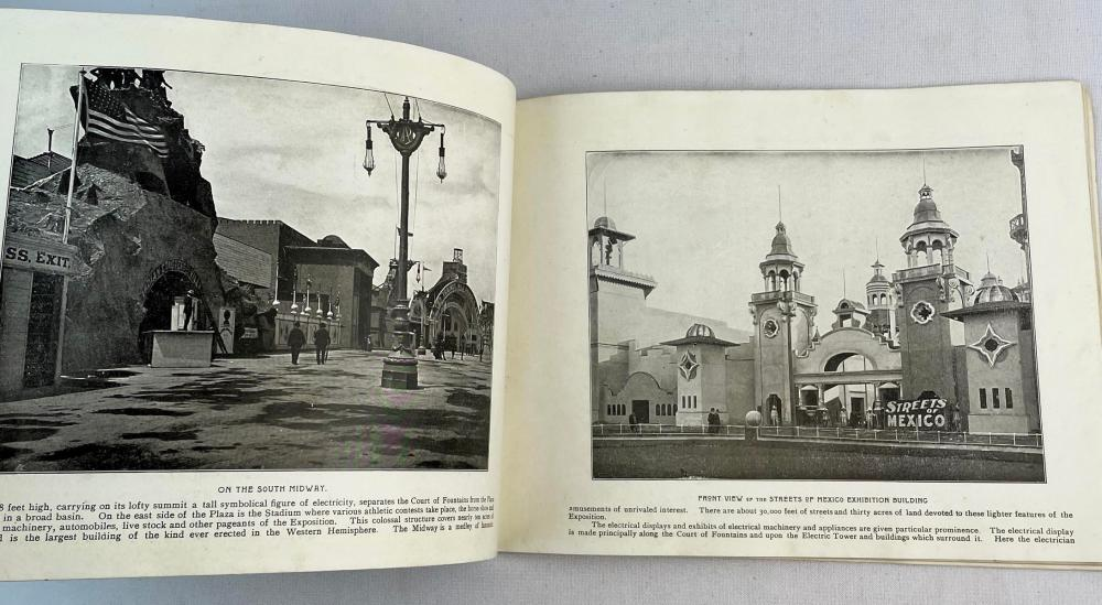 1901 A Souvenir of The Great Pan-American Exposition Buffalo, NY Photo Illustrated FIRST EDITION