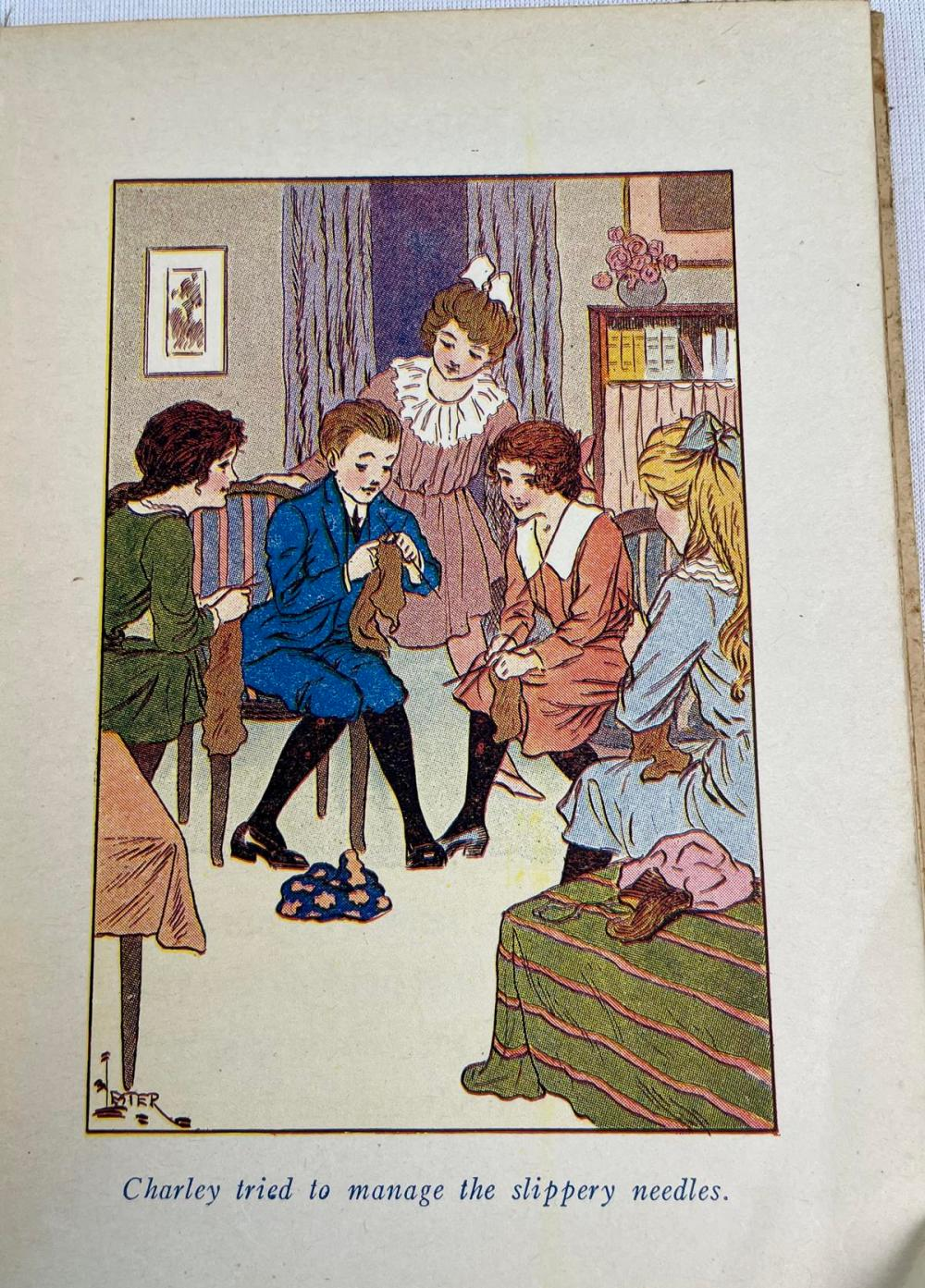 1919 Betty and The Red Cross by Alice Hale Burnett Illustrated FIRST EDITION