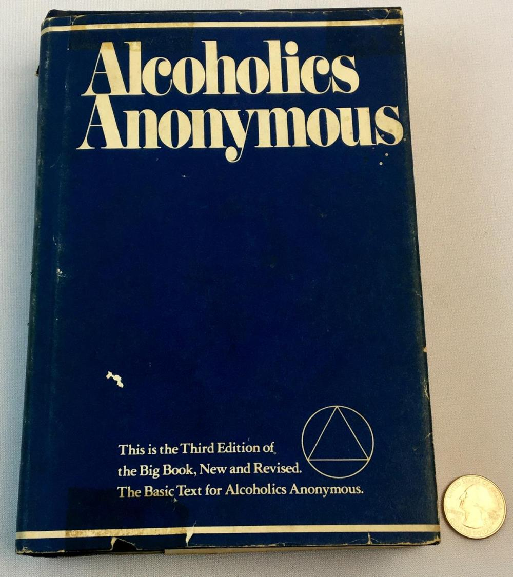 1976 Alcoholics Anonymous Third Edition w/ DUST JACKET