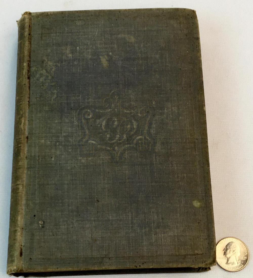 1852 The Buckeye Abroad or Wanderings in Europe and in The Orient by Samuel S. Cox FIRST EDITION