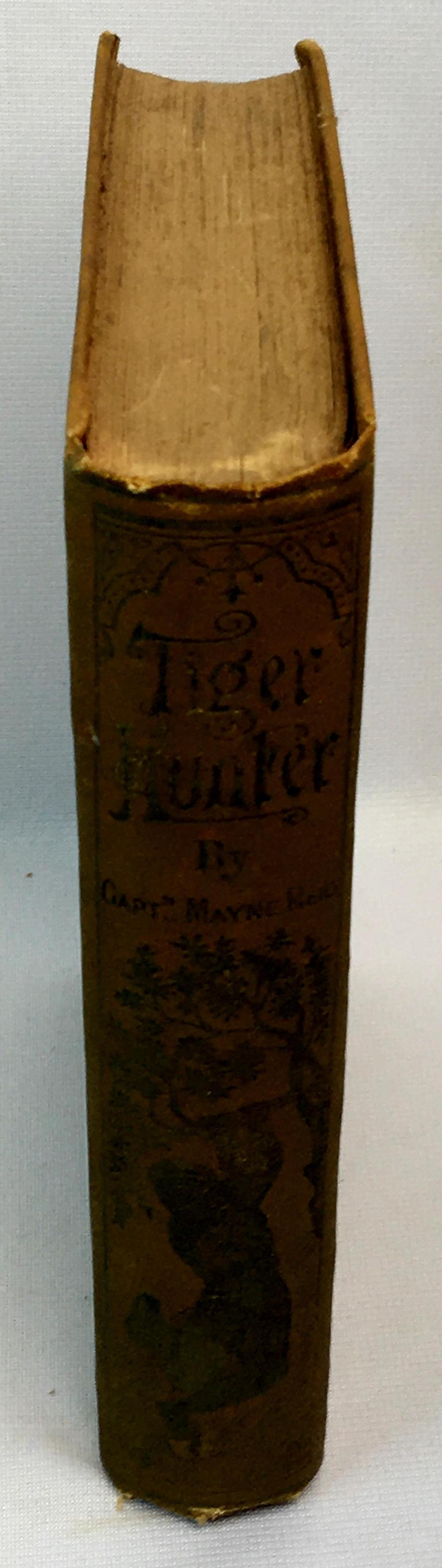 1883 The Tiger Hunter; or A Hero in Spite of Himself by Capt. Mayne Reid