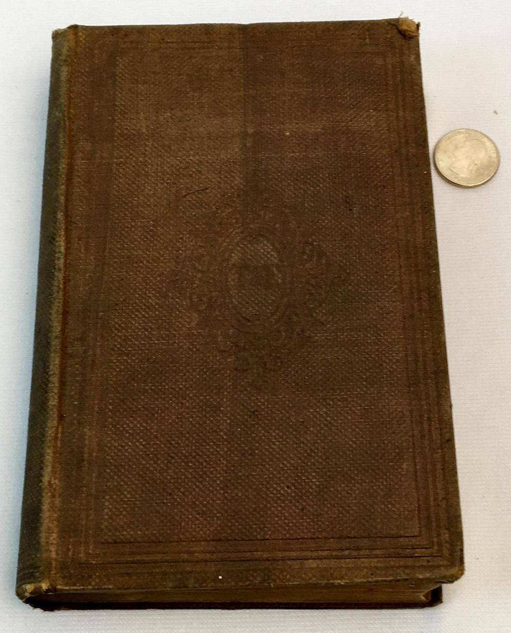 1861 Currents and Counter-Currents in Medical Science with Other Addresses and Essay by Oliver Wendell Holmes FIRST EDITION