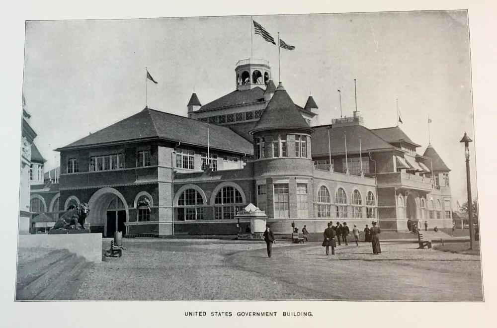 1896 Report of The Board of Commissioners Representing The State of New York at The Cotton States and International Exposition