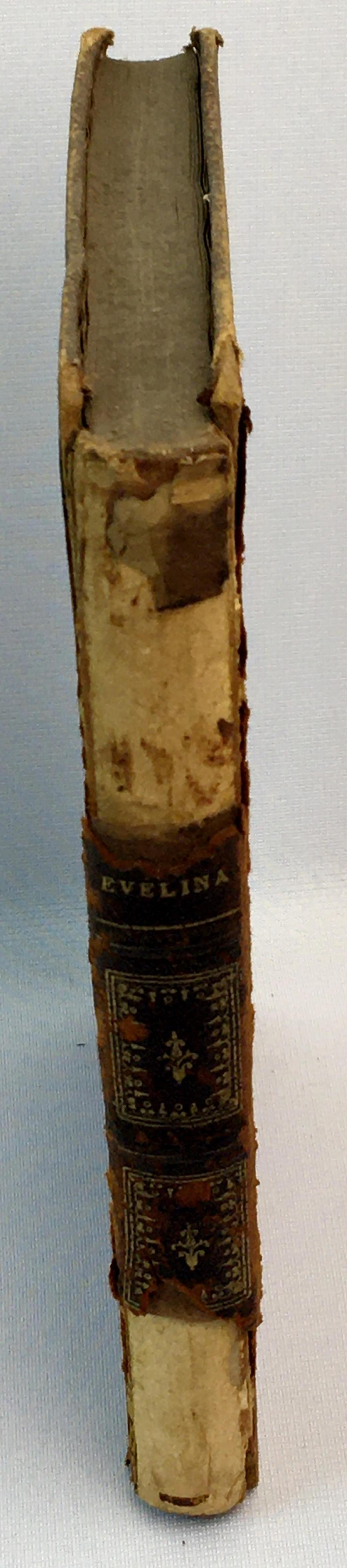 1838 Evelina or The History of a Young Lady's Entrance Into The World by Miss Burney