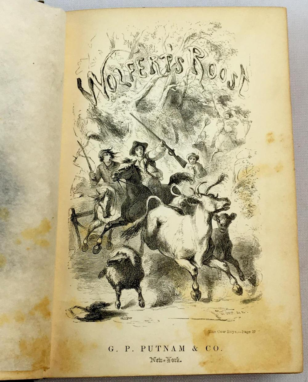 1855 Wolfert's Roost and Other Papers, Now First Collected by Washington Irving FIRST EDITION