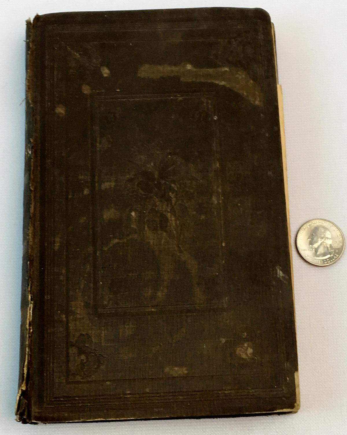1851 The Flower Garden or Breck's Book of Flowers by Joseph Breck FIRST EDITION