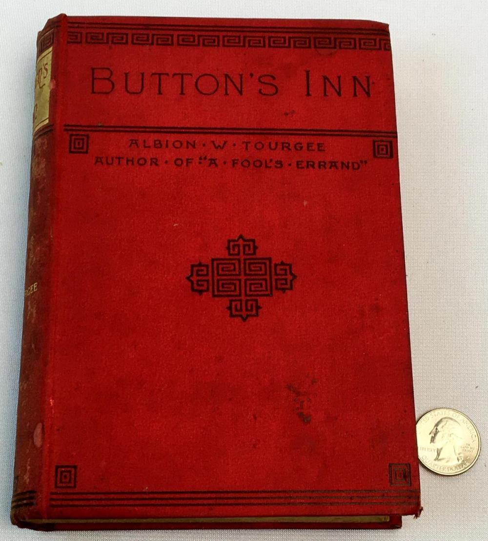1887 Button's Inn by Albion W. Tourgee