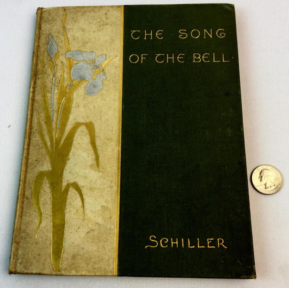 The Song of The Bell by Frederick Schiller ILLUSTRATED c. 1880