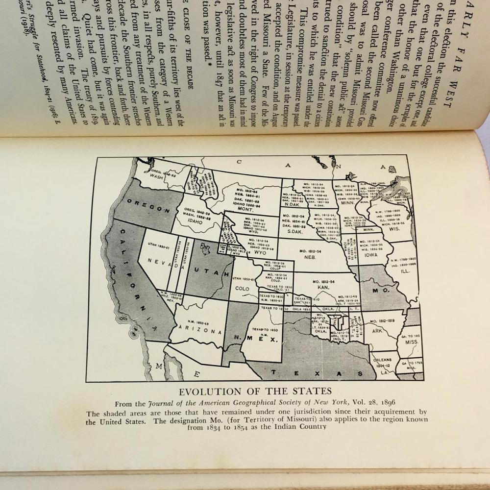 1936 The Early Far West: A Narrative Outline 1540 - 1850 by W.J. Ghent