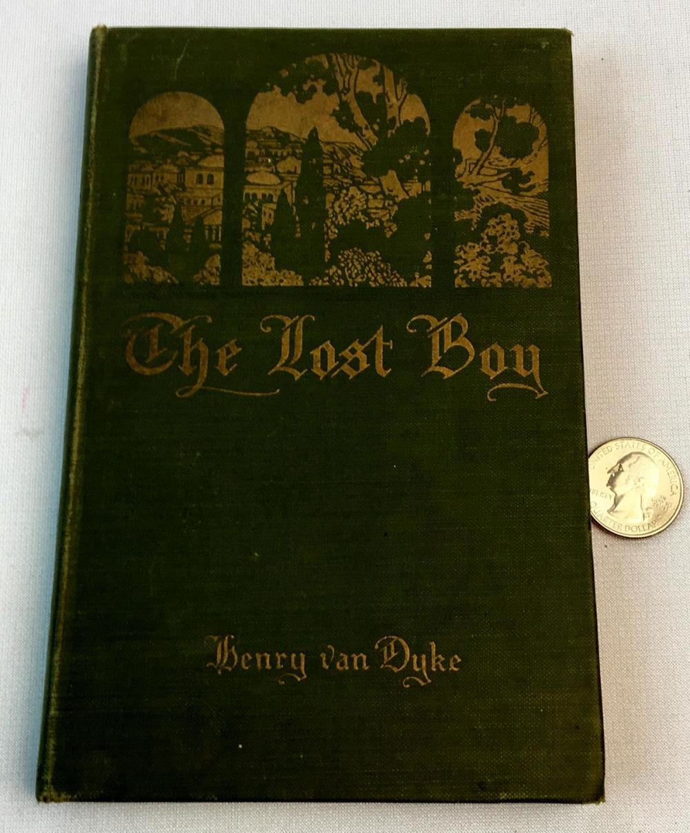 1914 The Lost Boy by Henry Van Dyke ILLUSTRATED