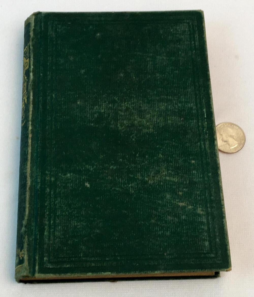 1872 The End of The World: A Love Story by Edward Eggleston Illustrated FIRST EDITION