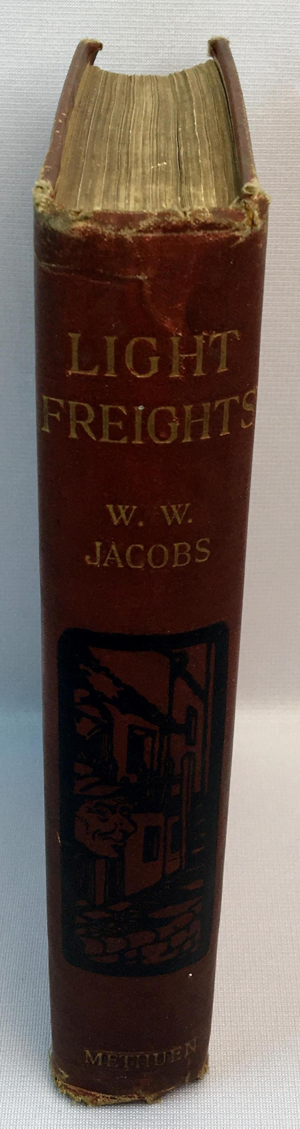 1901 Light Freights by W.W. Jacobs ILLUSTRATED
