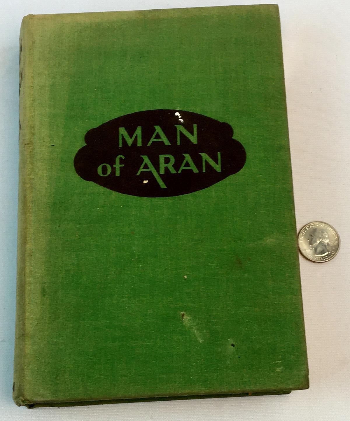 1935 Man of Aran by Pat Mullen w/ 16 Film Scenes FIRST EDITION