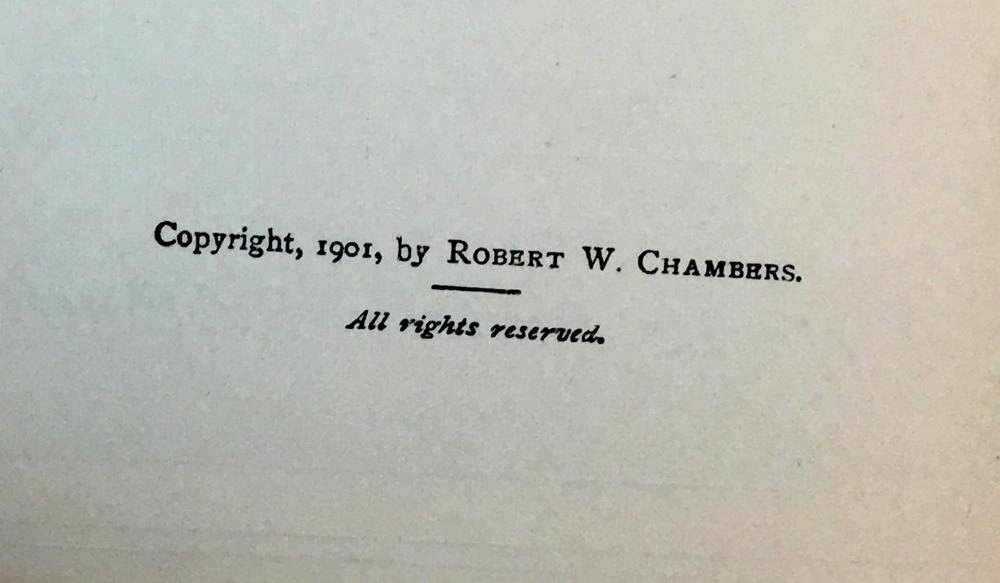 1902 Cardigan: A Novel by Robert W. Chambers ILLUSTRATED