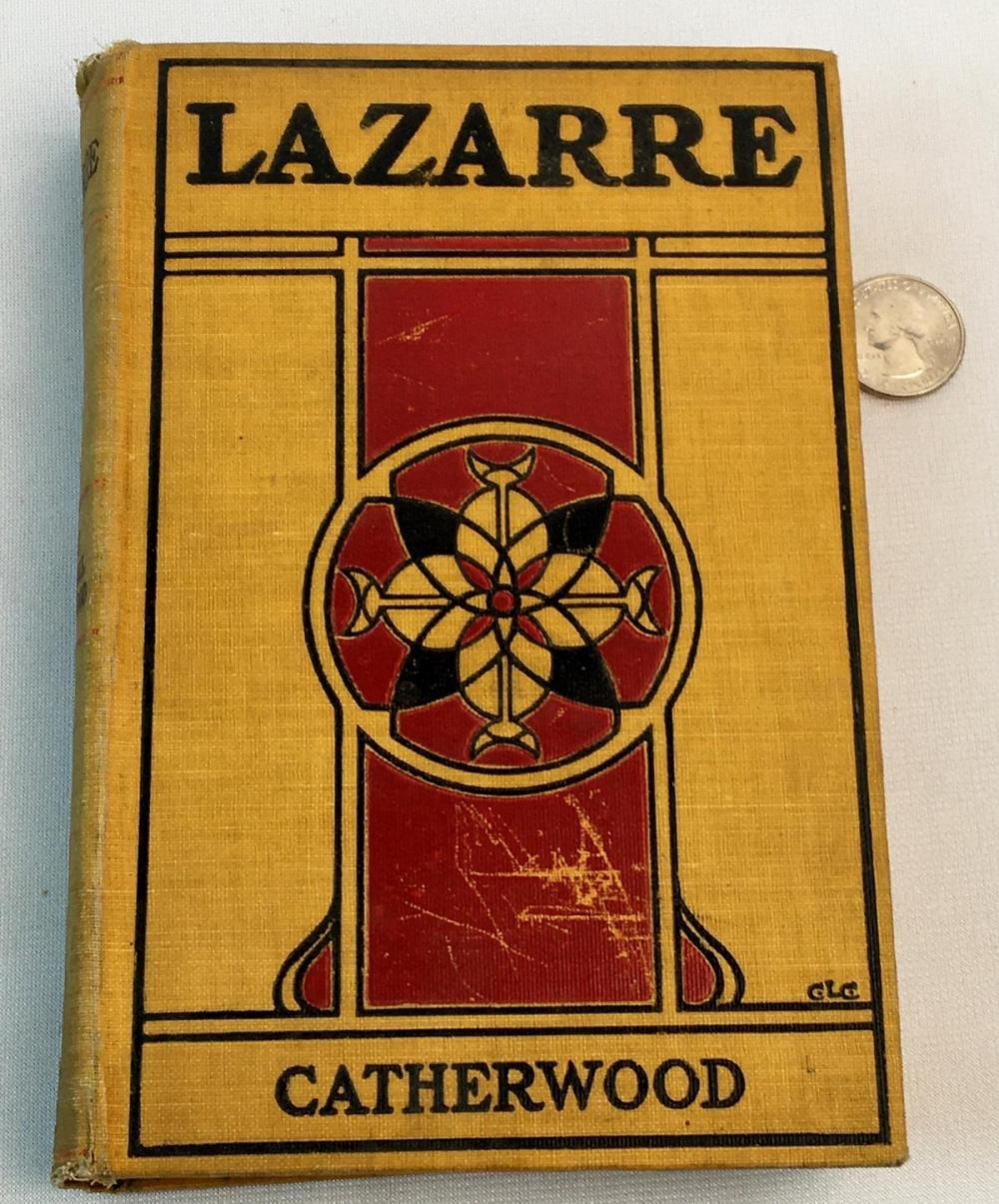 1901 Lazarre by Mary Hartwell Catherwood ILLUSTRATED
