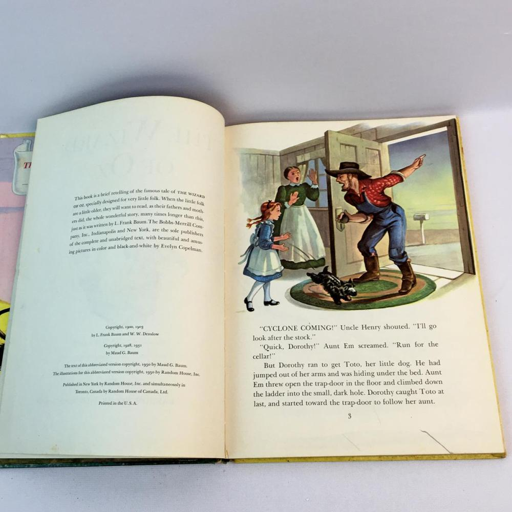 1931 The Wizard of Oz by L. Frank Baum ILLUSTRATED