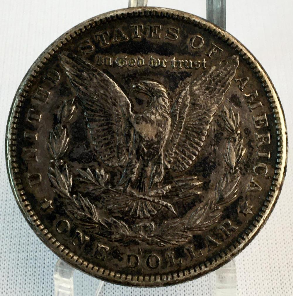1884 US $1 Morgan Silver Dollar