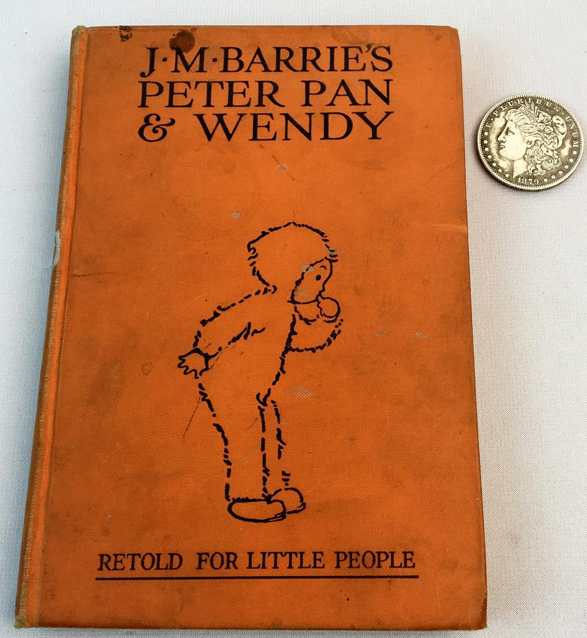1929 Peter Pan & Wendy by J. M. Barrie ILLUSTRATED