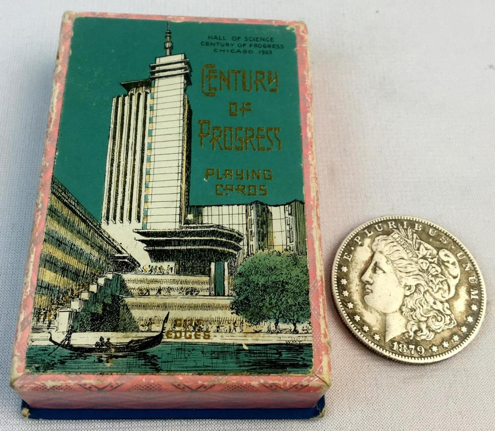 Vintage 1933 Century of Progress Playing Cards UNUSED