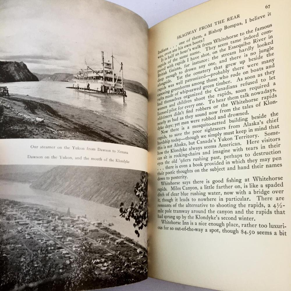 1939 The Lure of Alaska by Harry A. Franck w/ Dust Jacket FIRST EDITION