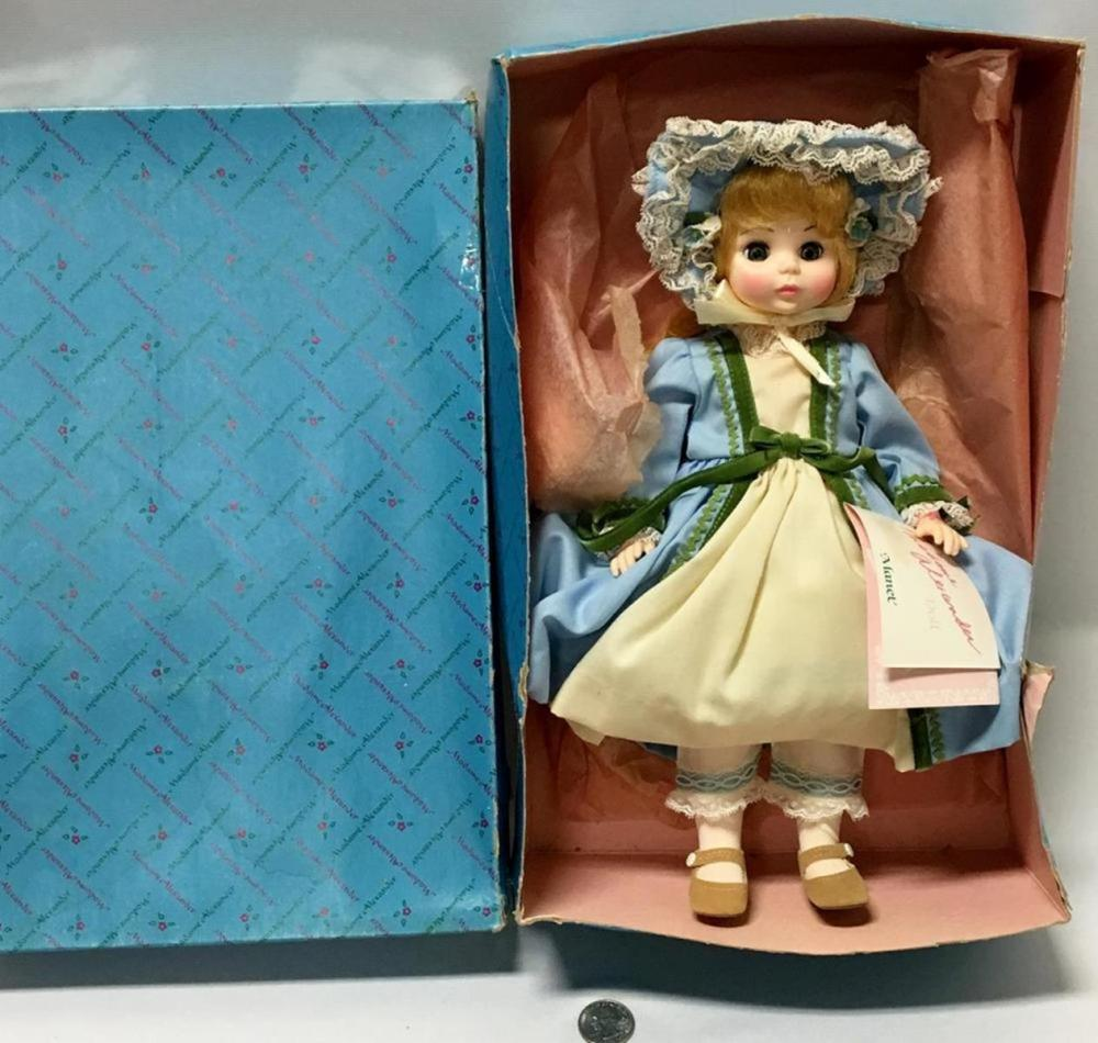 "Vintage 1980'S Madame Alexander ""Manet"" Doll W/ Tag And Original Box"