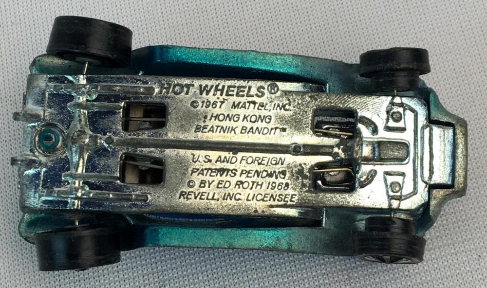 Vintage 1967 Hot Wheels Red Lines Beatnik Bandit