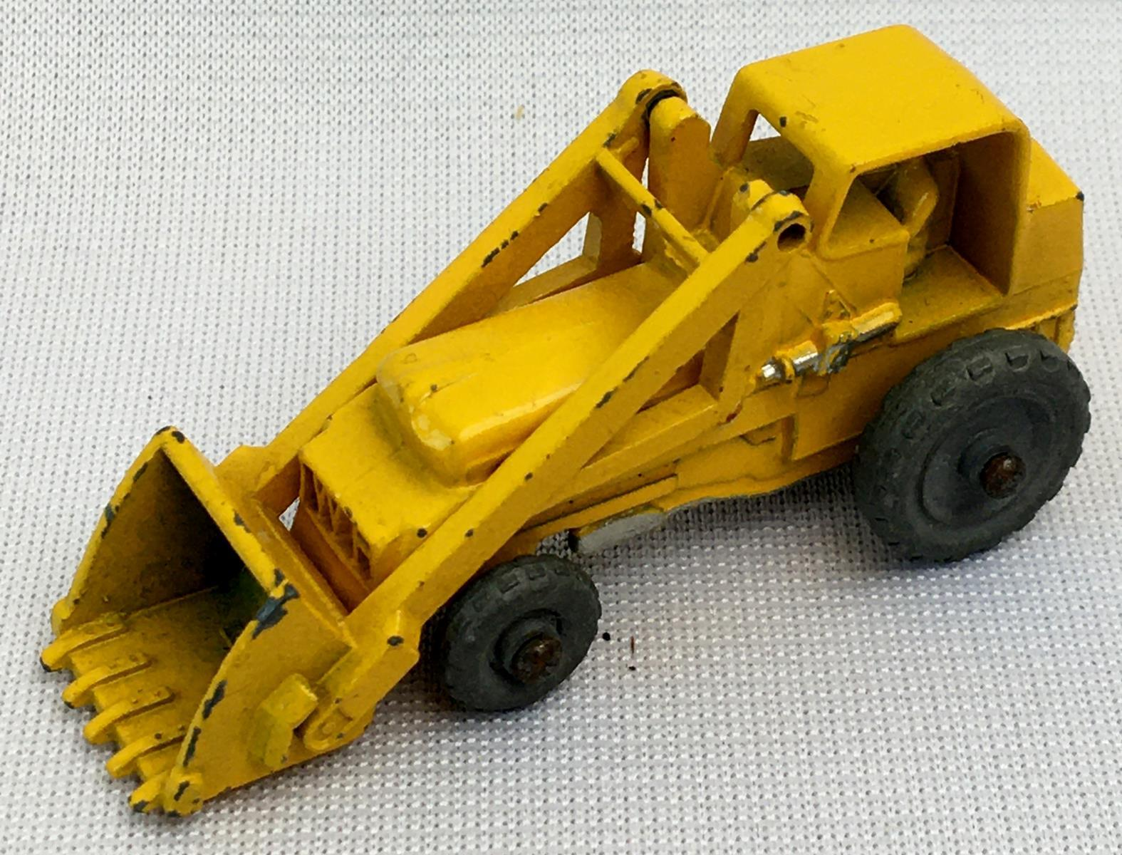 Vintage c.1960 Lesney Matchbox No. 24 Weatherill Hydraulic w/ Gray Wheels